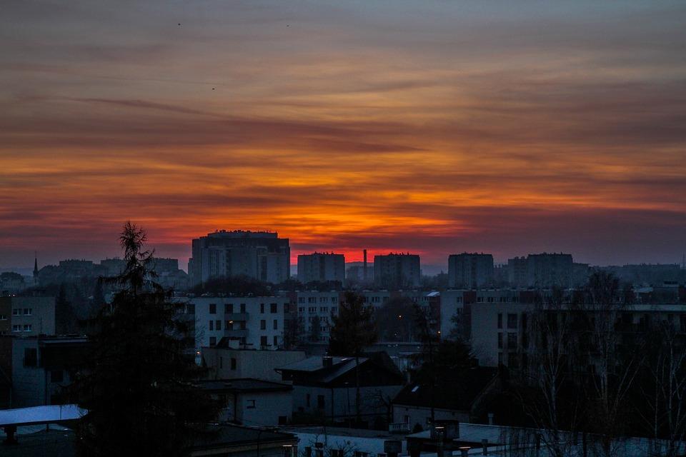 Kraków - panorama miasta