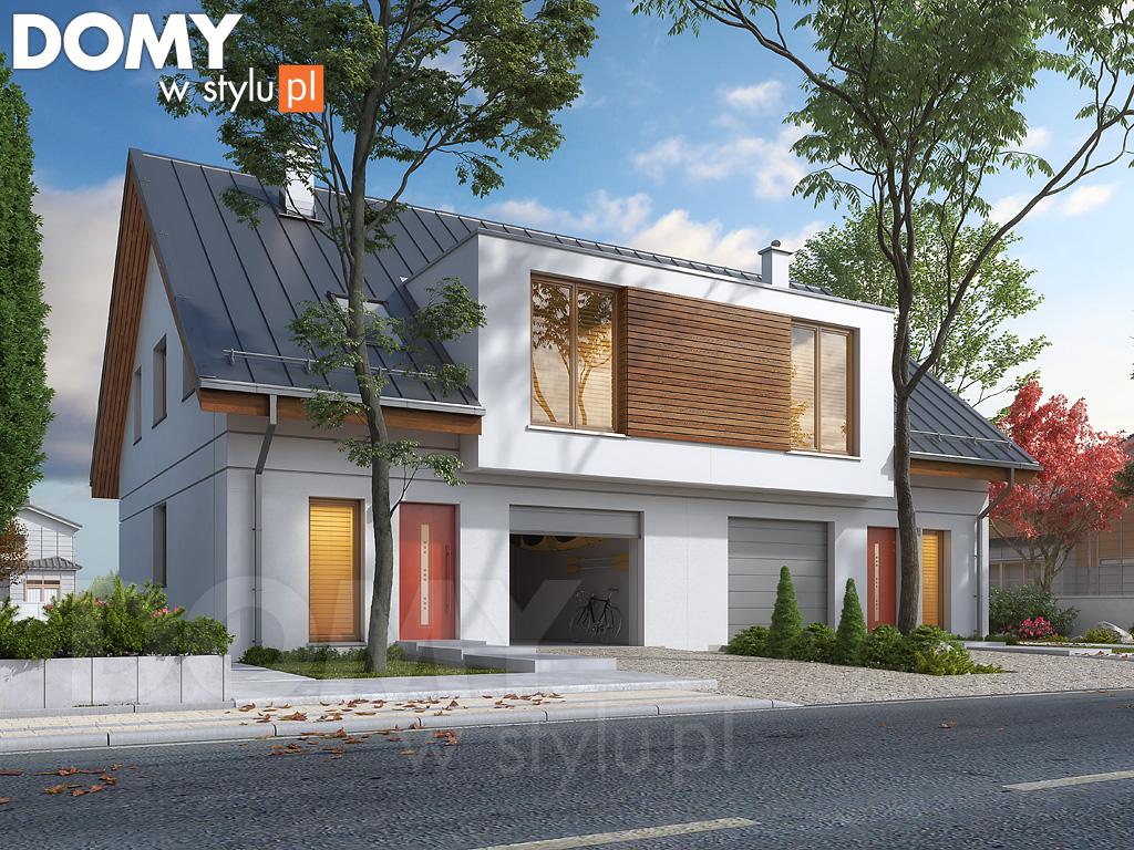 Projekty domów bliźniaków za rozsądną cenę
