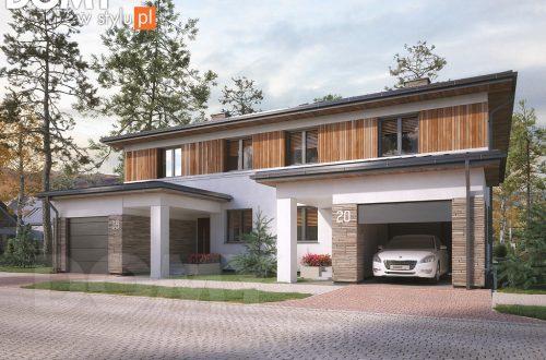 Idealny bliźniak, czyli jak kupić odpowiedni projekt domu w zabudowie bliźniaczej?